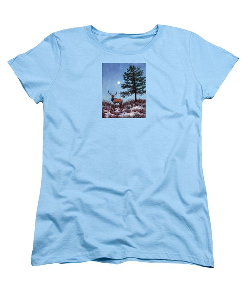Early Morning Moon Women's T-Shirt (Standard Cut)