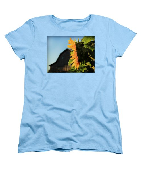 Women's T-Shirt (Standard Cut) featuring the photograph Early One Morning by Chris Berry