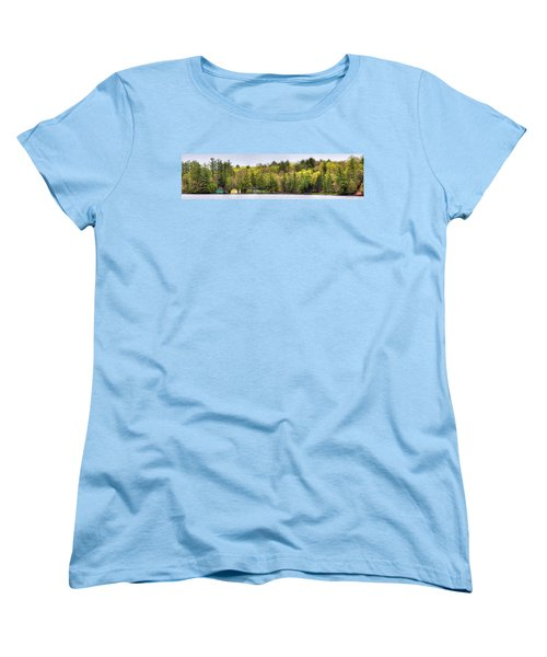 Early Spring Panorama Women's T-Shirt (Standard Cut) by David Patterson