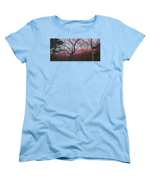 Early Spring Sunrise Women's T-Shirt (Standard Cut) by Tammy Schneider