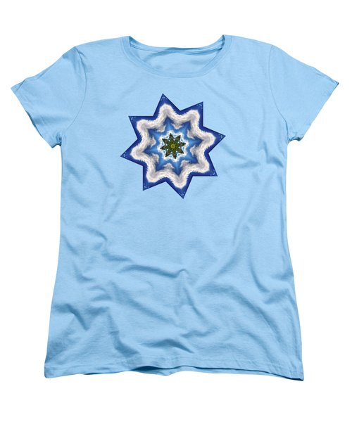 Earth Through A Star Women's T-Shirt (Standard Cut) by Kaye Menner