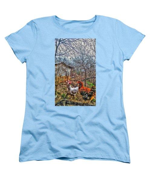 East Austin Livin Women's T-Shirt (Standard Cut) by Ismael Cavazos