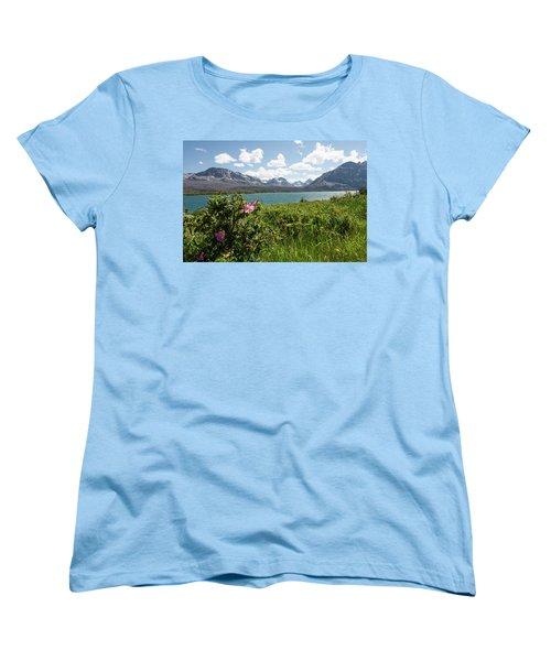 East Glacier National Park Women's T-Shirt (Standard Cut)