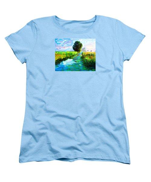 Ebb And Flow Women's T-Shirt (Standard Fit)