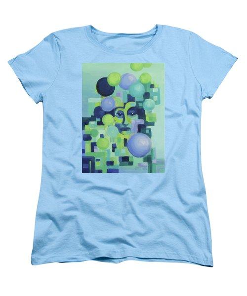 Women's T-Shirt (Standard Cut) featuring the painting Ebbs by Karen Ilari