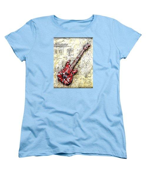 Eddie's Guitar 3 Women's T-Shirt (Standard Cut)