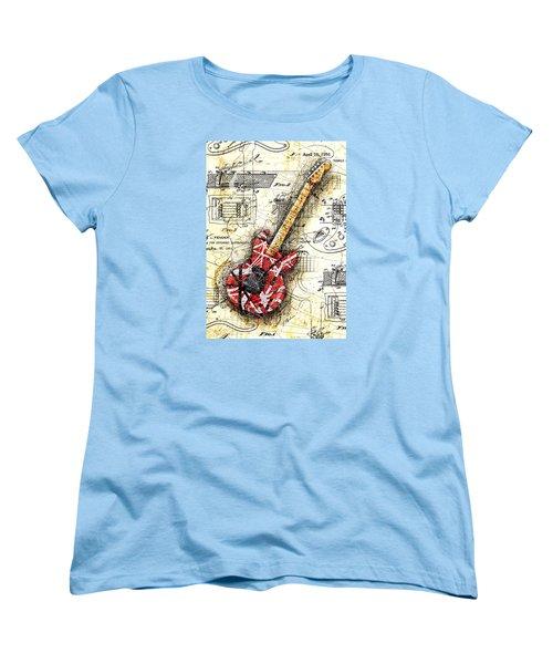 Eddie's Guitar II Women's T-Shirt (Standard Cut) by Gary Bodnar