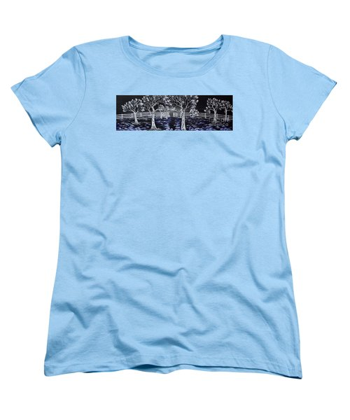 Eden Gate. Women's T-Shirt (Standard Cut) by Kenneth Clarke