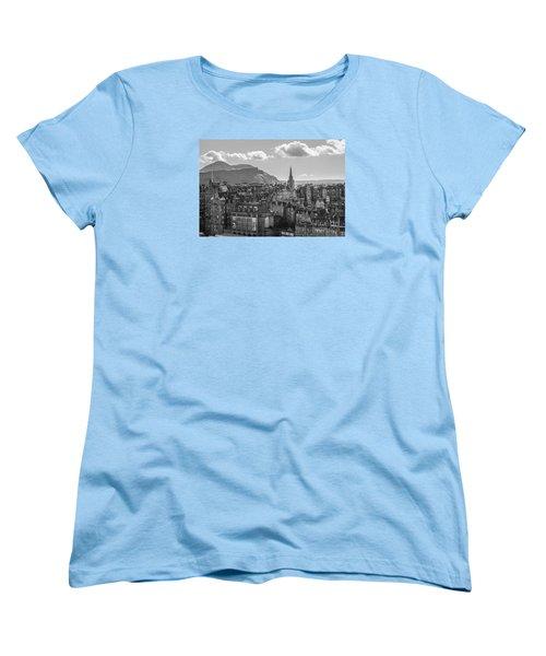 Edinburgh - Arthur's Seat Women's T-Shirt (Standard Cut) by Amy Fearn