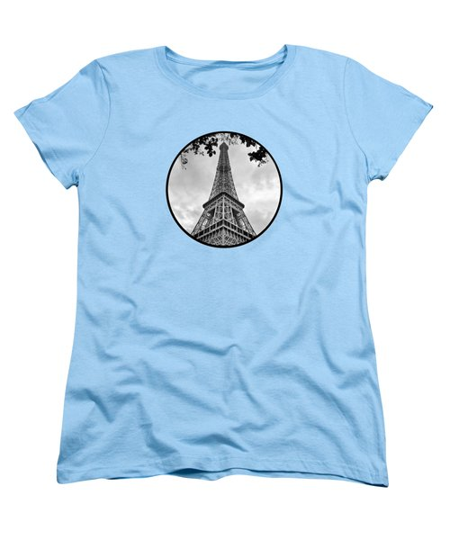 Eiffel Tower - Transparent Women's T-Shirt (Standard Cut)