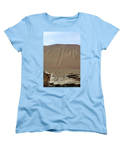 Women's T-Shirt (Standard Cut) featuring the photograph El Candelabro by Aidan Moran