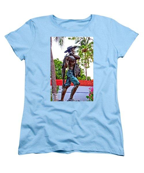 El Pescador Women's T-Shirt (Standard Cut) by Jim Walls PhotoArtist
