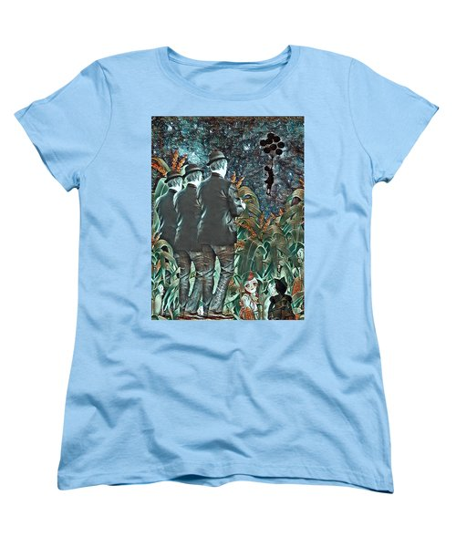 Elite Hide And Seek Women's T-Shirt (Standard Cut) by Vennie Kocsis