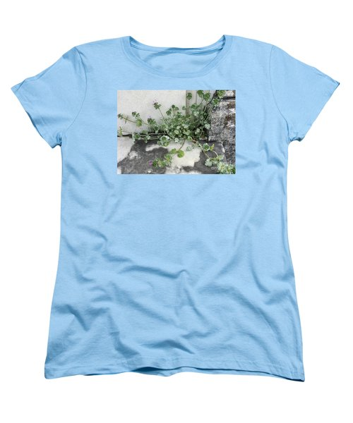 Women's T-Shirt (Standard Cut) featuring the painting Emergence by Kim Nelson