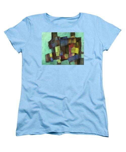 Colorful Women's T-Shirt (Standard Cut) by Behzad Sohrabi
