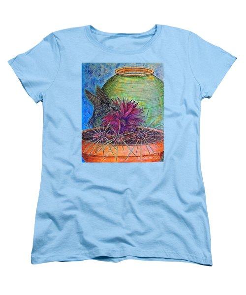 En Route Women's T-Shirt (Standard Cut) by Kim Jones