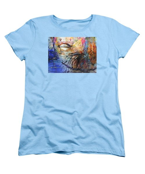 Enchanted Waters Women's T-Shirt (Standard Cut) by P Anthony Visco