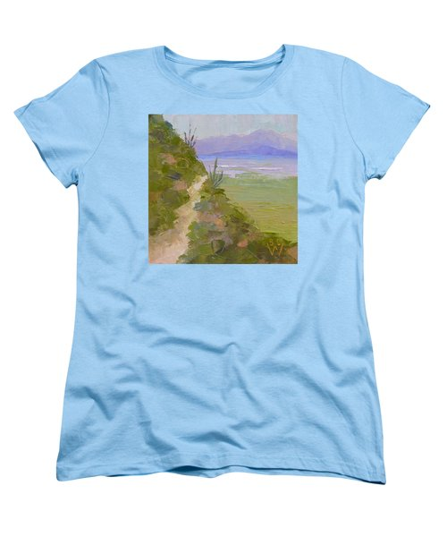 End Of Day At Gates Pass Women's T-Shirt (Standard Cut) by Susan Woodward