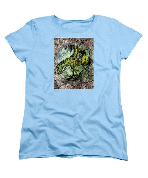 End Of The Trail 2 Women's T-Shirt (Standard Cut) by Ayasha Loya