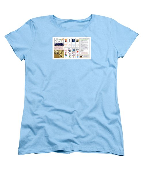 Endgames M And A Djia Women's T-Shirt (Standard Cut) by Peter Hedding