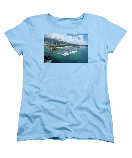 Endless Summer Women's T-Shirt (Standard Cut) by Lucinda Walter