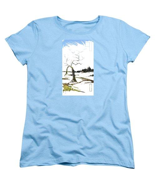 Energy . Tree Women's T-Shirt (Standard Cut) by John Jr Gholson