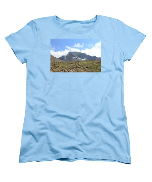 Entering The Boulder Field Women's T-Shirt (Standard Cut) by Christin Brodie
