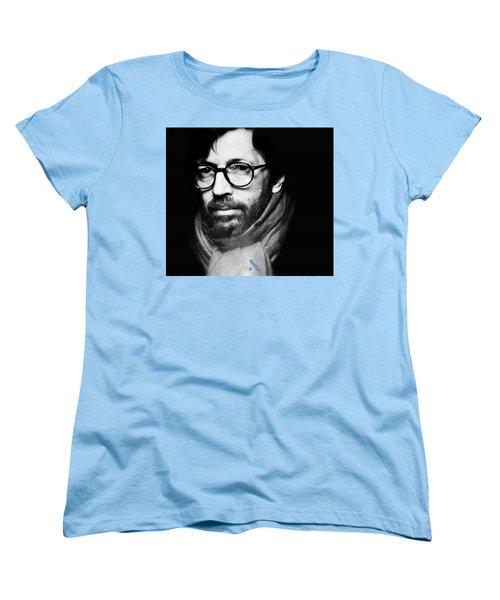 Eric Clapton Women's T-Shirt (Standard Cut) by Allen Beilschmidt