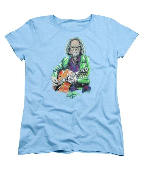 Eric Clapton Women's T-Shirt (Standard Cut)