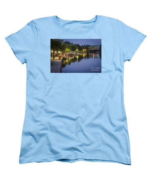 Erie Canal Shoreline Women's T-Shirt (Standard Cut)