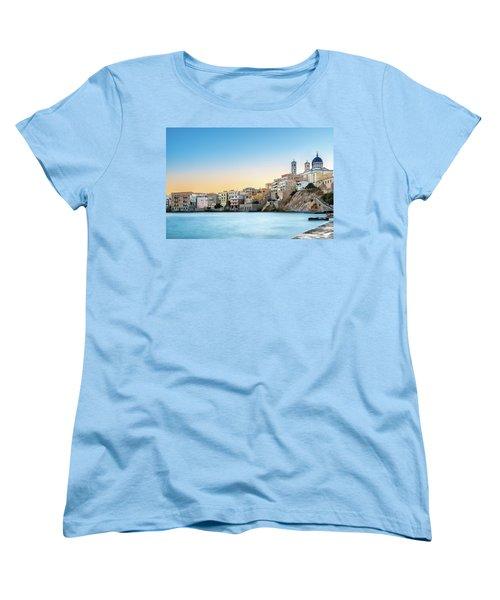 Ermoupoli - Syros / Greece. Women's T-Shirt (Standard Cut) by Stavros Argyropoulos