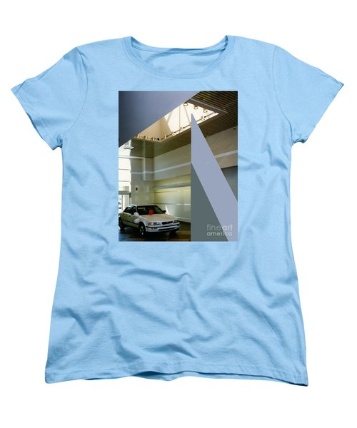 Ertley Automall5 Women's T-Shirt (Standard Cut) by Andrew Drozdowicz