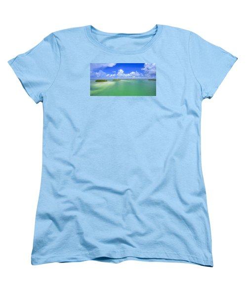 Estero Bay Women's T-Shirt (Standard Cut) by Sean Allen