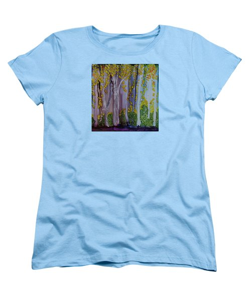 Ethereal Forest Women's T-Shirt (Standard Cut) by Suzanne Canner