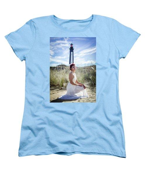Ethereal Gaze Women's T-Shirt (Standard Cut)