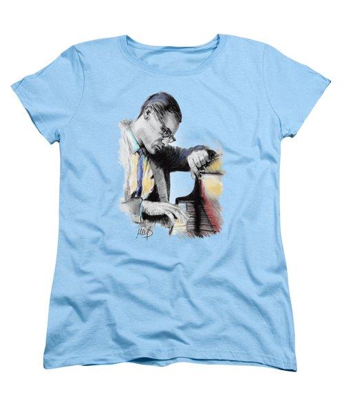Evans Bill Women's T-Shirt (Standard Cut) by Melanie D