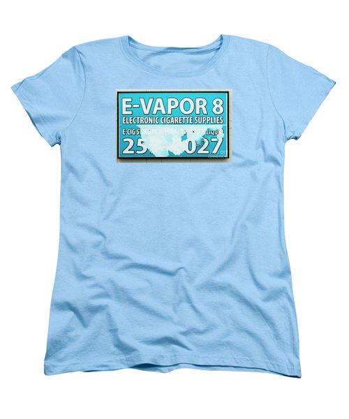 Women's T-Shirt (Standard Cut) featuring the photograph Evaporation Happens by Joe Jake Pratt