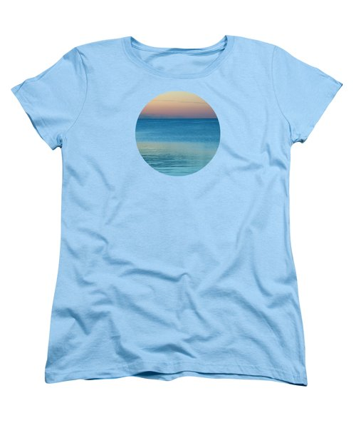 Evening At The Lake Women's T-Shirt (Standard Cut) by Mary Wolf