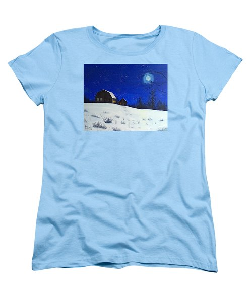Evening Chores Women's T-Shirt (Standard Cut)
