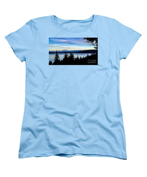 Women's T-Shirt (Standard Cut) featuring the photograph Evening Sky by William Wyckoff