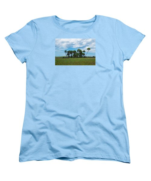 Everglades Landscape Women's T-Shirt (Standard Cut) by Christopher L Thomley