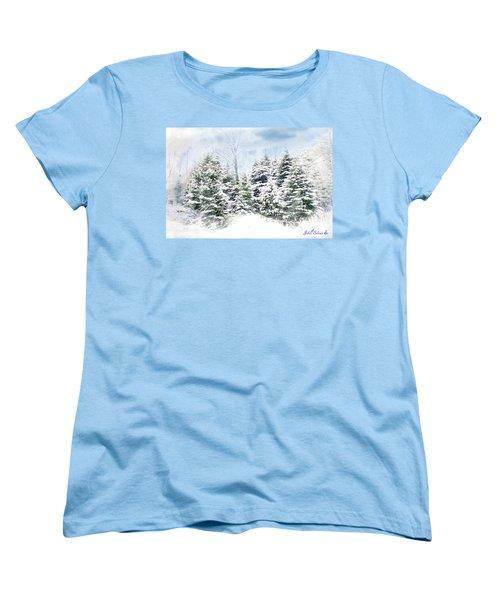 Evergreens Women's T-Shirt (Standard Cut) by John Selmer Sr