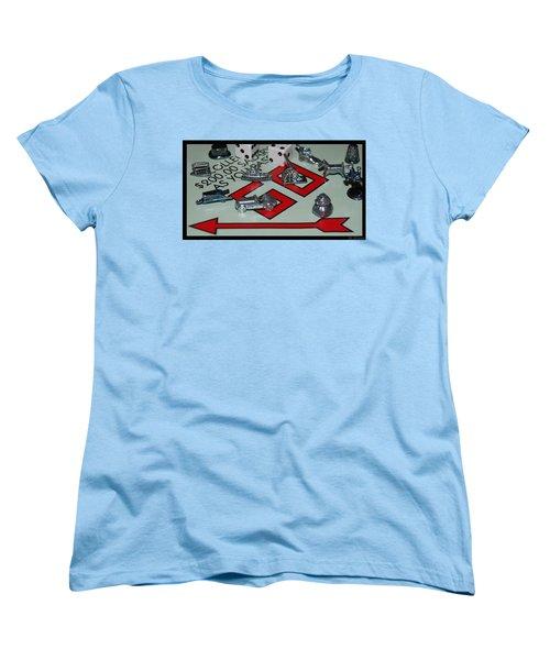 Everyone Pass Go Women's T-Shirt (Standard Cut) by Rob Hans