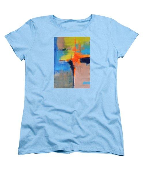 Excitement Women's T-Shirt (Standard Cut) by Becky Chappell