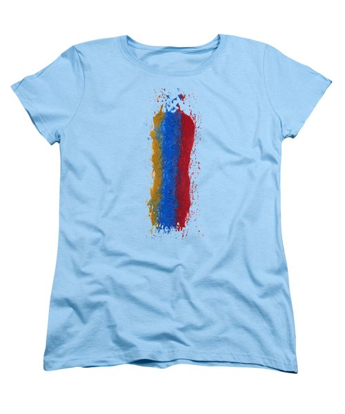 Exclamations 3 Women's T-Shirt (Standard Cut) by Lori Kingston