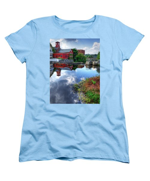 Exeter New Hampshire Women's T-Shirt (Standard Cut) by Rick Mosher