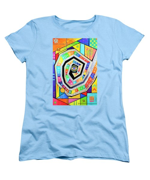 Eye Of The Storm Women's T-Shirt (Standard Cut) by Jeremy Aiyadurai