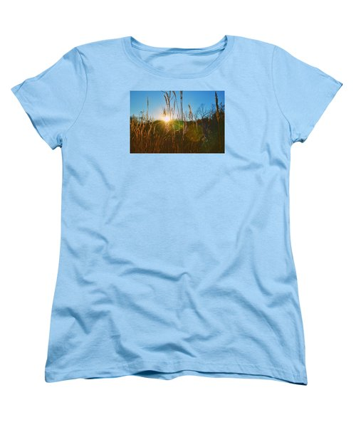Women's T-Shirt (Standard Cut) featuring the photograph Faded Day by Nikki McInnes