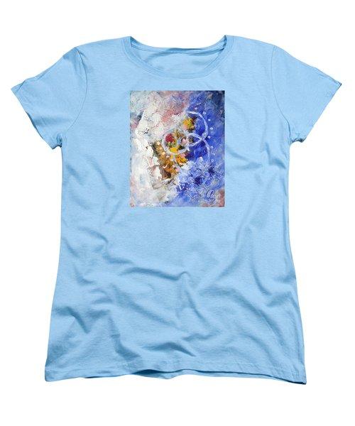 Fairground Women's T-Shirt (Standard Cut) by Lynda Cookson