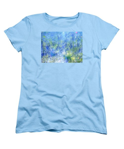 Fairy Ring Beneath The Surface Women's T-Shirt (Standard Cut) by Melissa Stoudt
